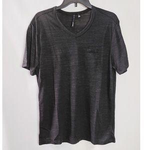 Joe's Jeans Black V Neck T Shirt Size Small NWOT
